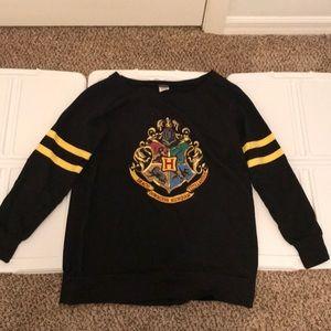 Universal Harry Potter Long Sleeved Fleece Shirt